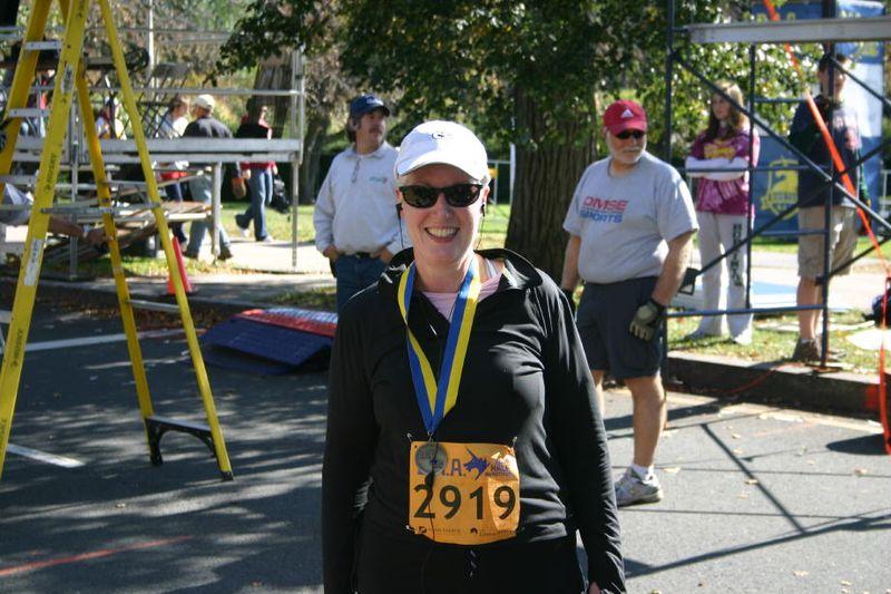 Julie Half Marathon 5